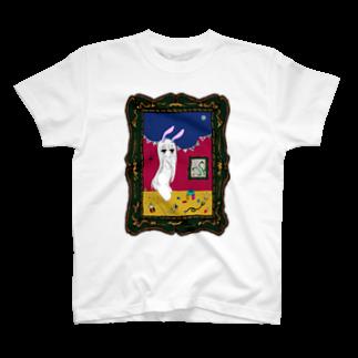 リリカルロリカルのよると兎Tシャツ
