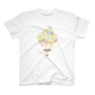 seven stars and one heart Tシャツ