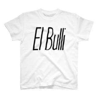エルブリ ブラック×ホワイト Tシャツ