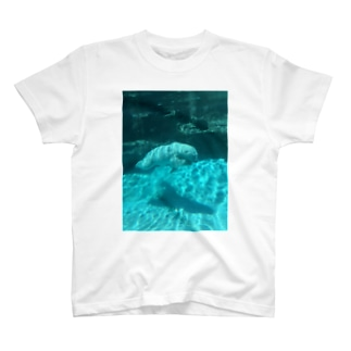 夏のしろくま Tシャツ