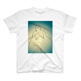 さくらんぼ女 Tシャツ