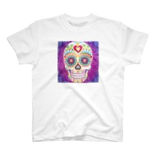 Cráneo💀 Tシャツ
