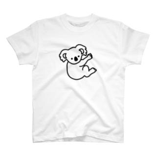 『いつものコアラ』 Tシャツ