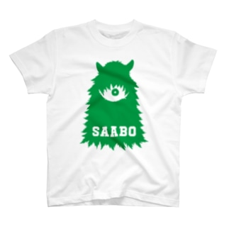 SAABO_FUR_ForestMan_L_G Tシャツ