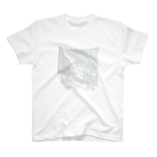 Yusuke SAITOHの白いシート Tシャツ