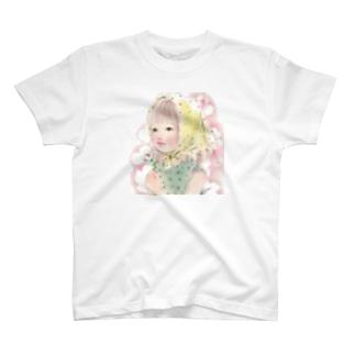 花びらちゃんと夏休み Tシャツ