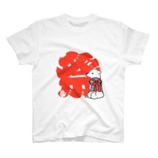 お祭り白柴 2 Tシャツ