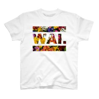 WAIT(フラワー) Tシャツ