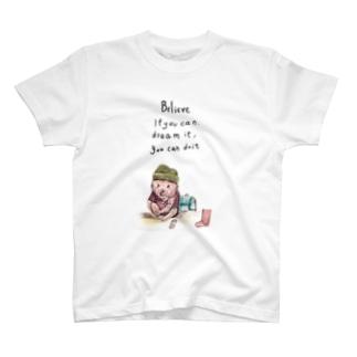 ブタ Tシャツ