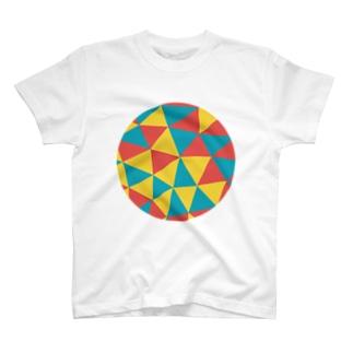 信号幾何学 Tシャツ