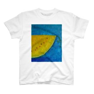Yellow poem Tシャツ