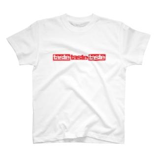 taste3logoR Tシャツ