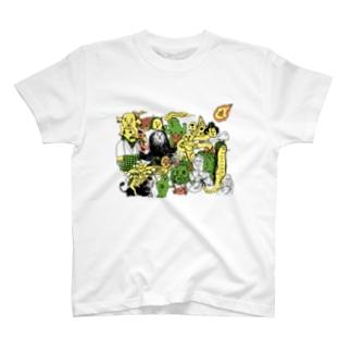 妖怪大集合 Tシャツ