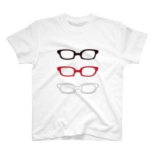 眼鏡 Tシャツ