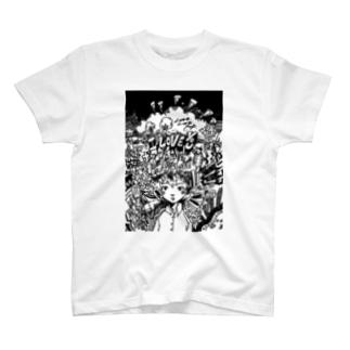 モノクログラフィック Tシャツ