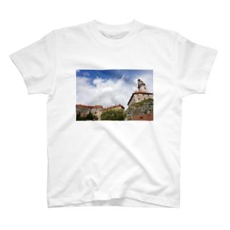 チェスキークルムロフ Tシャツ