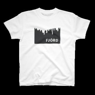 FJORD,LLCのフィヨルドTシャツ(black)Tシャツ