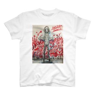 グラフィティガール Tシャツ