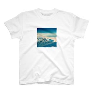 空からの景色 Tシャツ