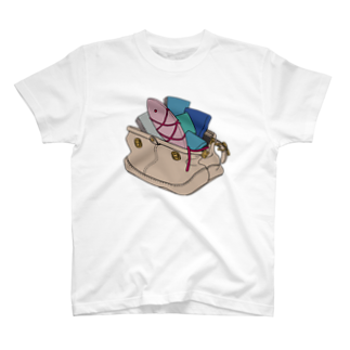 かばんきんぎょ Tシャツ