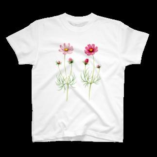 山田理矢のコスモスTシャツ