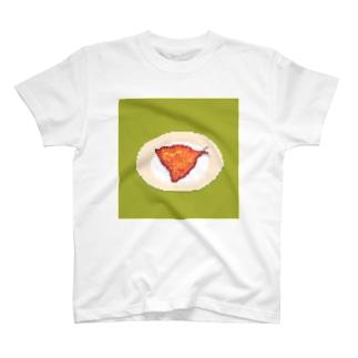 アジフライ Tシャツ