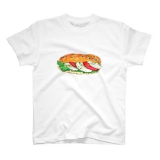 モッツァレラチーズサンド Tシャツ
