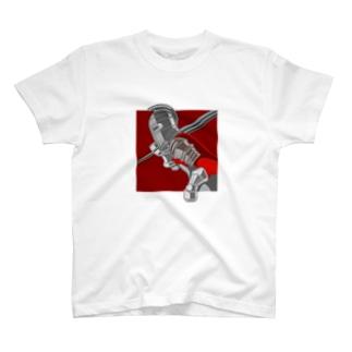 赤い騎士 Tシャツ