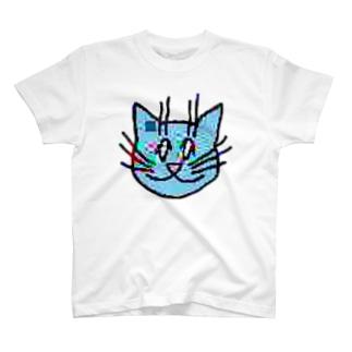 画質悪猫 T-Shirt Tシャツ