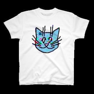 TKCH ONLINE STORAGE B1の画質悪猫 T-ShirtTシャツ