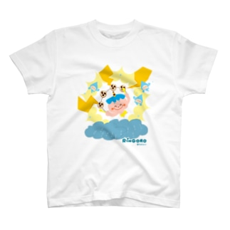りんごろちゃん(雷のこ) Tシャツ