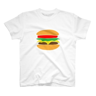ハンバーガー Tシャツ