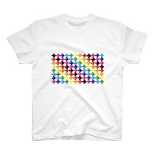 矢印vol.8 Tシャツ