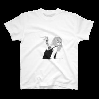 Masashi KaminkoのSora-tobiTシャツ