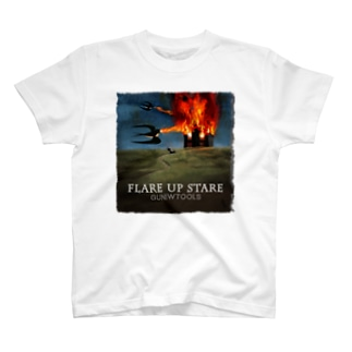 GT Flare up stare Tシャツ