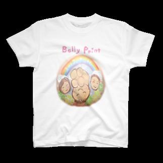 都愛ともかの家族と虹Tシャツ