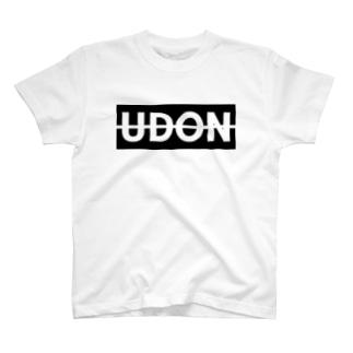 UDON(黒文字) Tシャツ