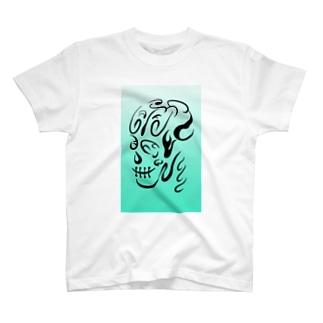 骸骨っぽい何か Tシャツ