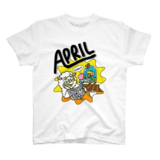 APRIL Tシャツ