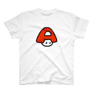あんびくん(赤) Tシャツ