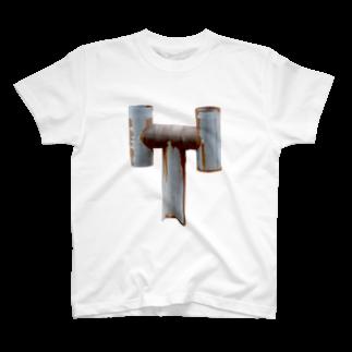 Yusuke SAITOHの煙突 Tシャツ