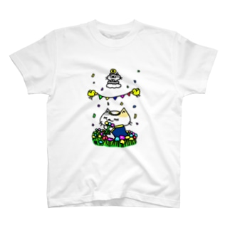 聖なる乙女!猫乙女! Tシャツ