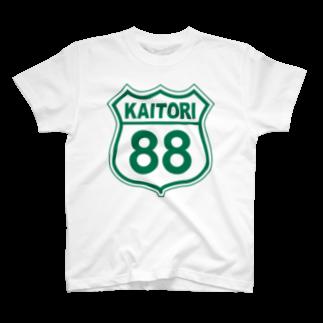 k-lab(ケイラボ)のKAITORI 88 (G)Tシャツ