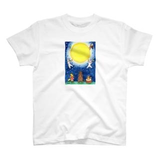 「月夜の音楽会」 Tシャツ