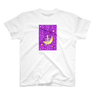 「月のバレリーナ」 Tシャツ