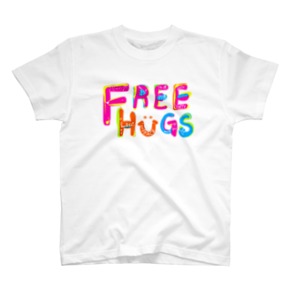 もやしくんのフリーハグ/FREE HUGS Tシャツ