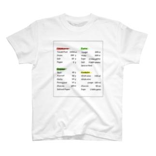 英字デザイン Tシャツ