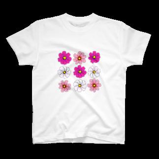 くろすけのcosmosTシャツ