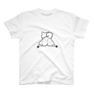 柴尻(黒線) Tシャツ