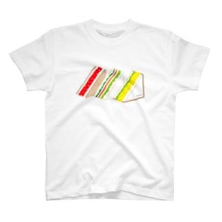 三角サンド3つ Tシャツ